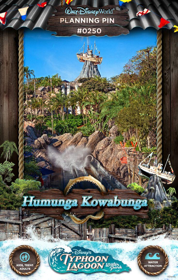 Walt Disney World Planning Pins: Humunga Kowabunga
