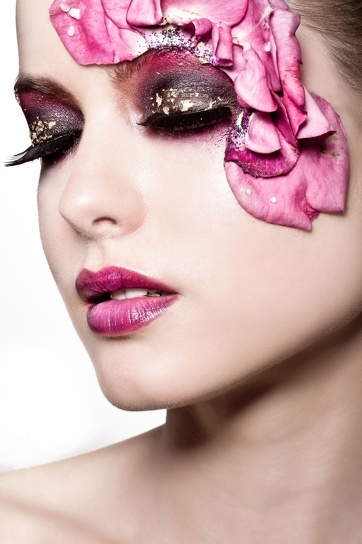 Beauty Of The Week Jeny Romero Realjenyromero: Model: Lauren Frensham Makeup & Concept: Amanda Nash