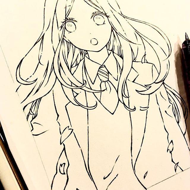 【wakana_art】さんのInstagramをピンしています。 《Work in progress✍ 女の子の方は、影入れ前の下描き終わった〜💖男の子も描かなきゃっ😆💪✨ . #drawing#draw#illustration#art#artwork#manga#instagood#sketch#picture#photo#photography#pencil#portrait#longhair#cute#followme#cherryblossom#写真#絵#イラスト#スケッチ#シャーペン#ロングヘア#可愛い#模写#漫画#アート#桜#下描き#f4f ←ask me》