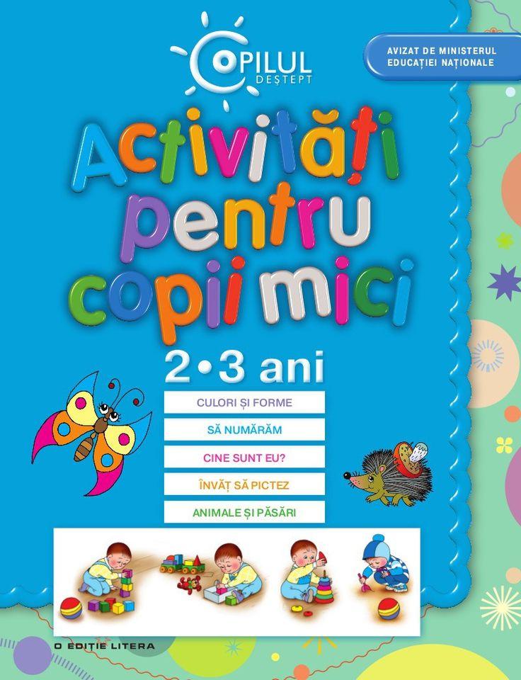 - Activitati pentru copii mici, 2-3 ani -