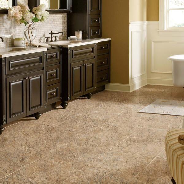 Image Of  best Bathroom Flooring images on Pinterest Bathroom flooring Bathroom ideas and Bathroom remodeling