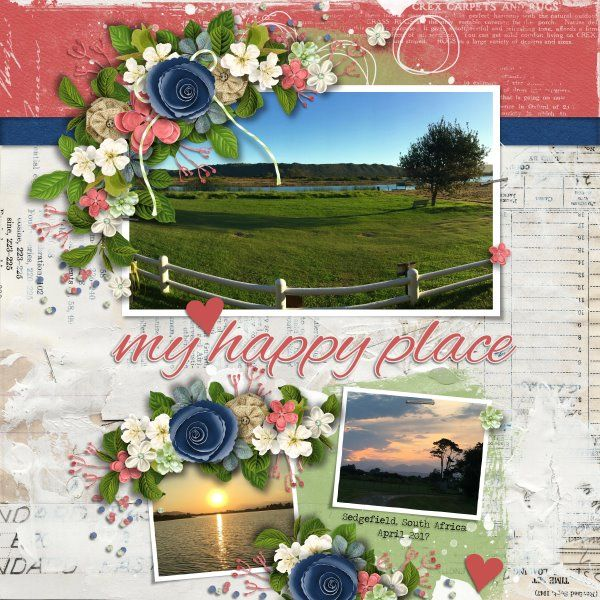 Kit and Template Our House by Heartstrings Scrap Art. Photos mine.