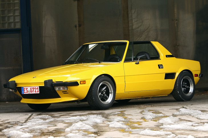 Fiat X1/9 1.3 ,my first car, fun to drive, but what a mechanical/electrical nightmare.