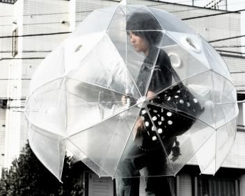 Daily Brain Teasers, Riddles and Jokes: Full-Body Umbrella