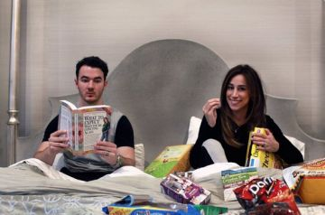 Kevin and Danielle Jonas are going to be parents of two. Danielle posted this adorable pregnancy reveal to her Twitter feed, later retweeted by her hubby. Based on this reveal, the candid couple seems super excited to indulge in all-things pregnancy until baby number two is here. Kevin then took to Instagram to post a sweet photo of Alena Rose Jonas wearing a 'Big Sister' shirt, and uses the caption to reveal the duo is still in the dark about the gender of their next child. Could it be time…