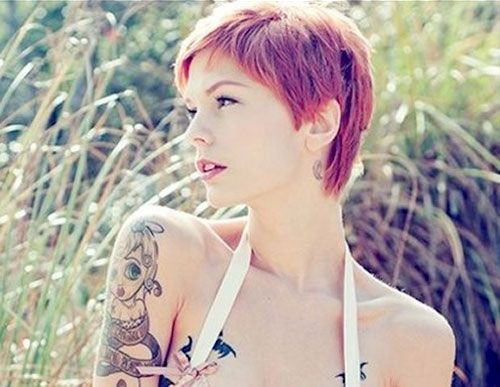 17 Best Ideas About Short Funky Hairstyles On Pinterest
