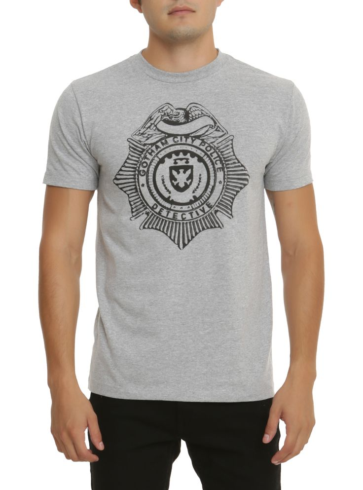 DC Comics Gotham Detective Badge T-Shirt | Hot Topic