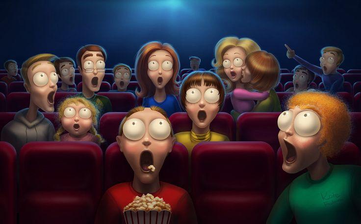 Картинки про, кинотеатр картинки смешные
