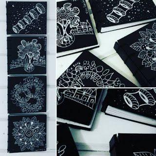 Vanilandia: Cuadernos de mano artesanales