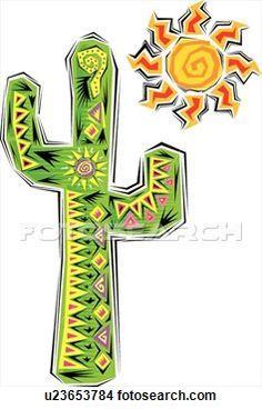 cactus y llamas dibujos - Buscar con Google