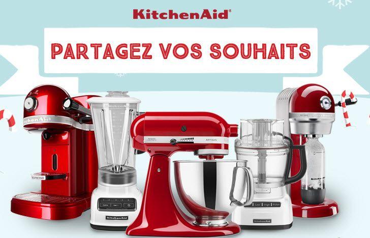 Cadeaux KitchenAid pour les fêtes - Quebec echantillons gratuits