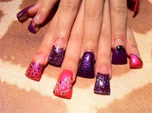 Duck nails... Bizarre!