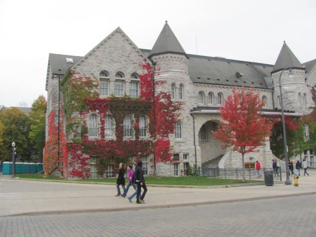 Queen's University in Kingston, ON