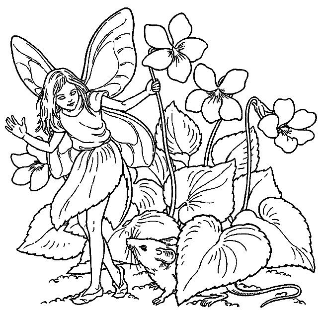 Fantasy Coloring Pages 20