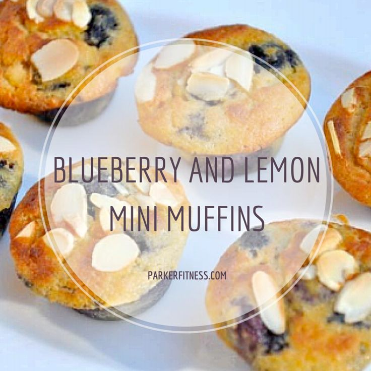 blueberry and lemon mini muffins   healthy and delicious