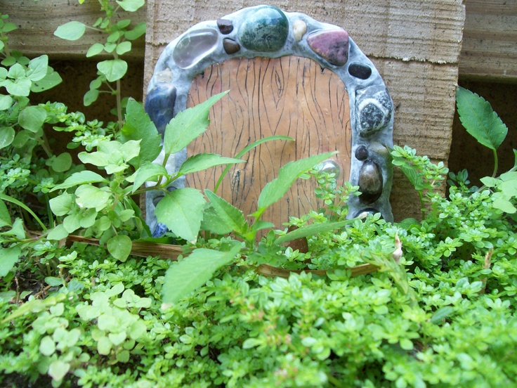 Fairy door    created by me, Debbie Smith: Polymer Clay