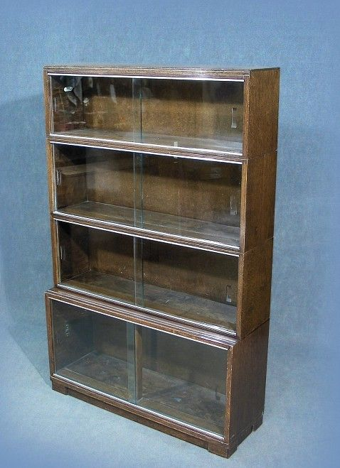 A Wonderful Vintage Retro Quot Minty Quot Glazed Stacking Bookcase