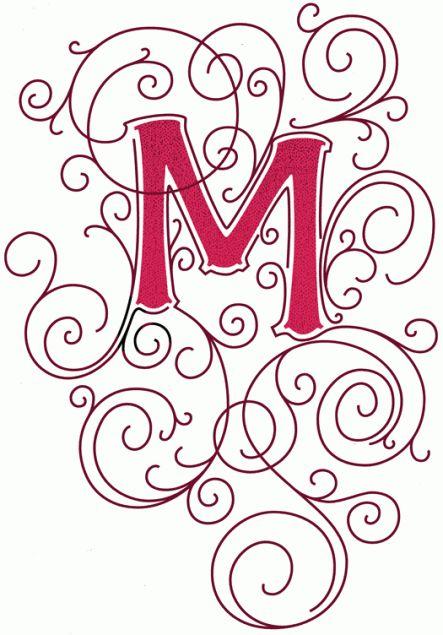 71 best letter m images on pinterest monograms letters