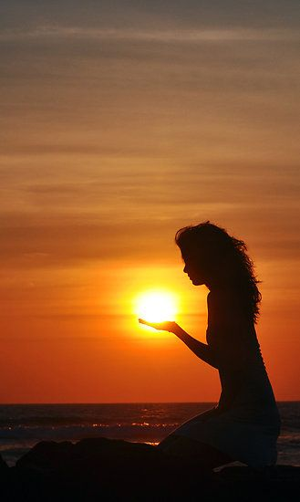 It's like holding the sun in the palm of your hand....