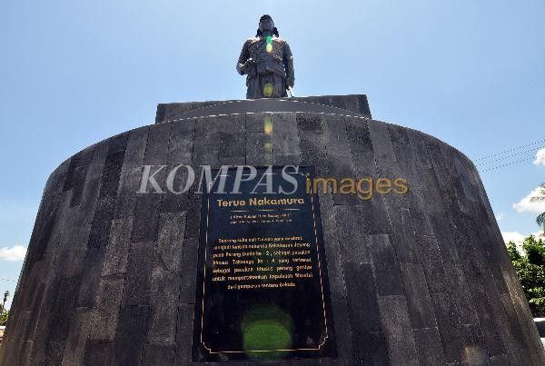 Monumen Teruo Nakamura | KOMPAS images