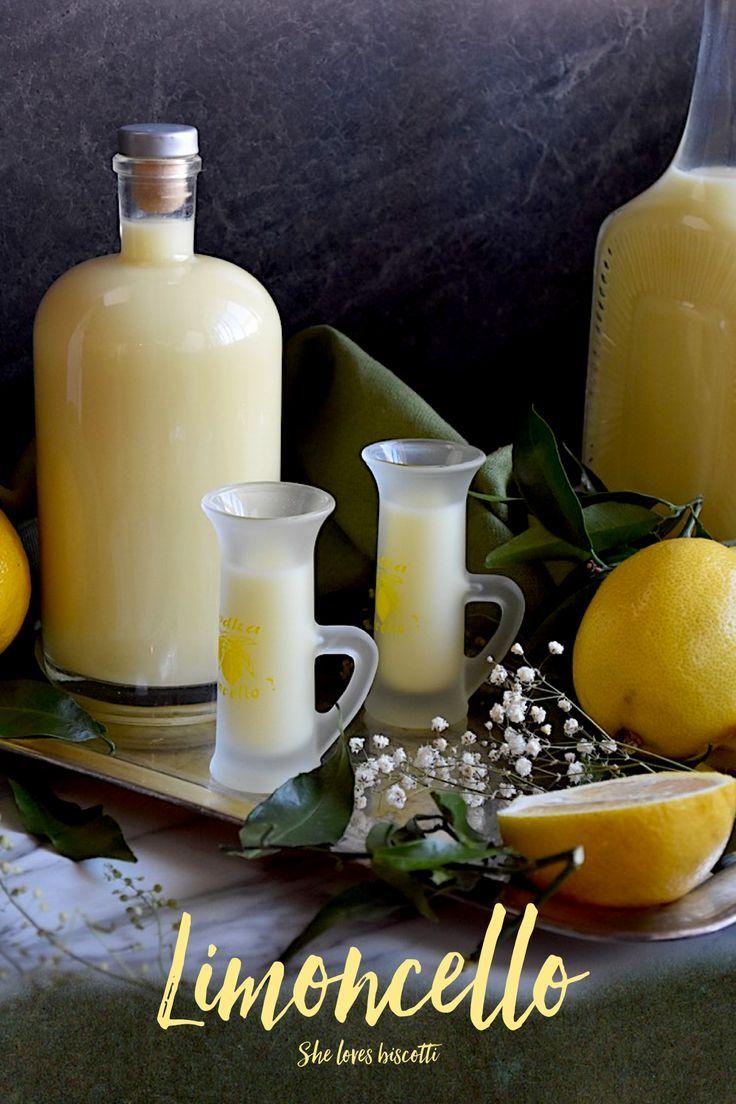 Crema di Limoncello di Vittoria    limoncello drink    limoncello recipe    #homemade #diy #limoncello #lemons via @Loves_biscotti