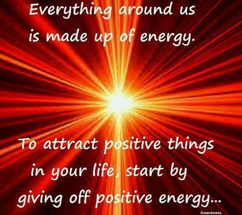 how to give off positive energy
