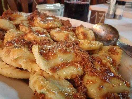 """Meat """"tordelli"""" #TuscanyAgriturismoGiratola"""