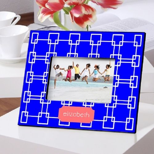 Grecian Blue Picture Frame