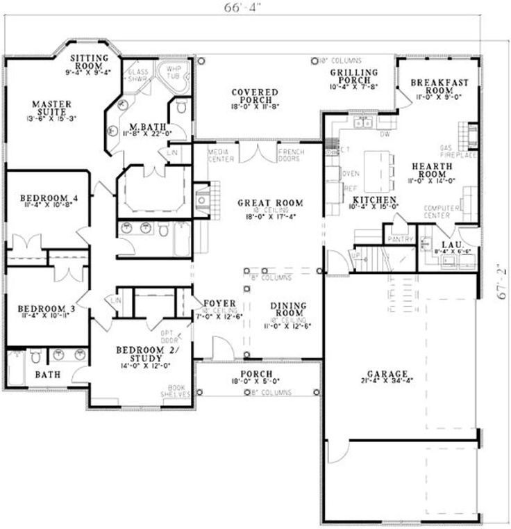 Plan #17-636 - Houseplans.com