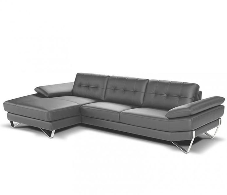 The Neoteric Leather Sectional