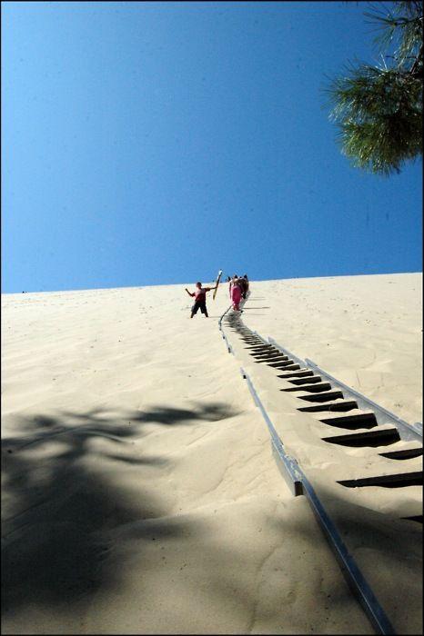 ✯ Escaliers Dune de Pilat