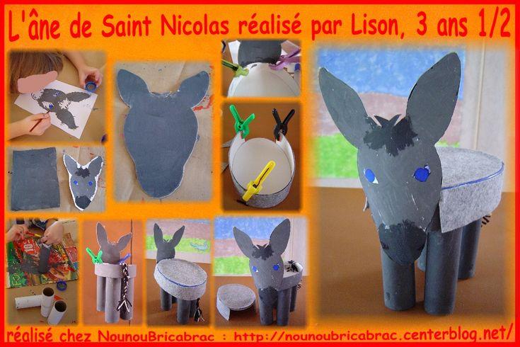 L'âne de Saint Nicolas... réalisé par Lison, 3 ans 1/2