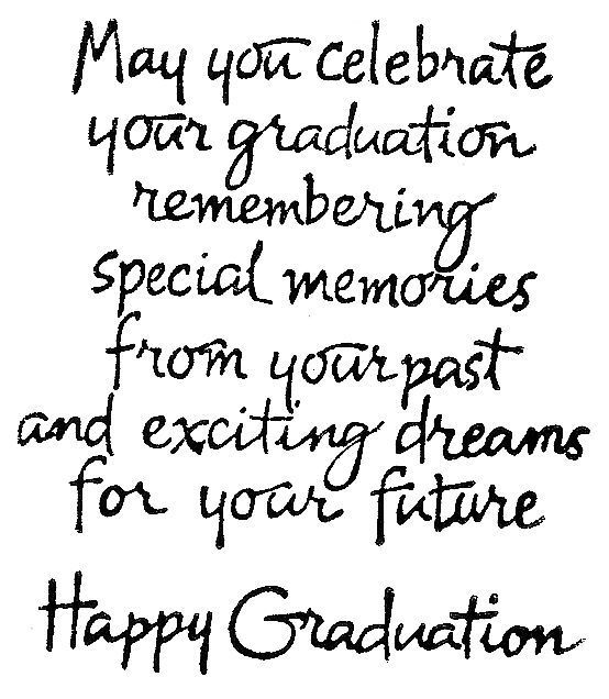 graduation rubber stamps | Northwoods_May_You_Celebrate_Graduation.jpg: