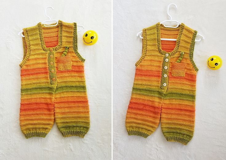 sunshine dungarees knitting pattern at www.tbeecosy.com