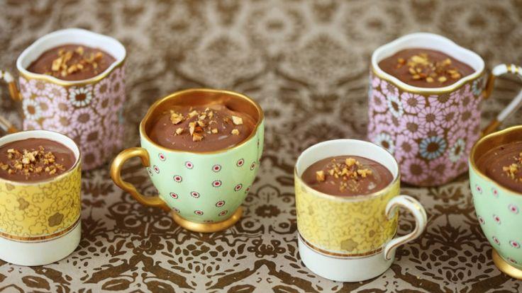 Oooohhhh ♡ Ian Marber's Divine Pots au Chocolat