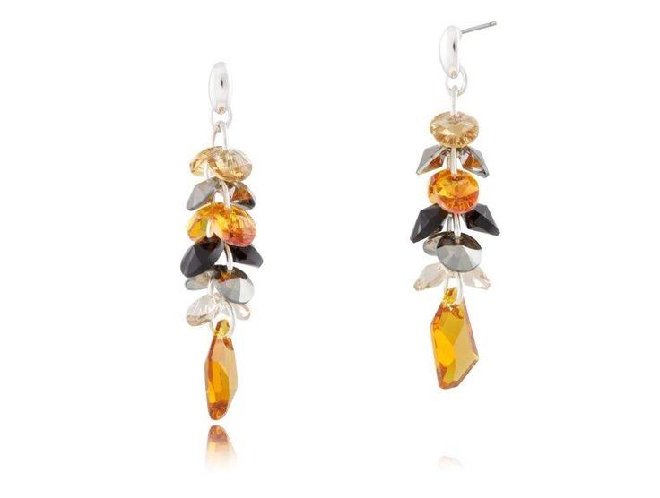 Kolczyki KIL0202 #bydziubeka #jewelry #swarovski