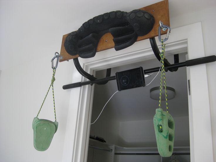 Leave No Trace hangboard/trainer- brilliant