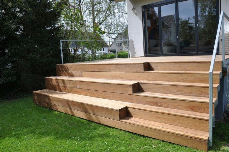 20++ Terrasse bois avec jardiniere integree trends