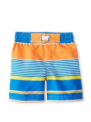 56% OFF Rugged Bear Baby-Boys Infant Striped Short (Orange)