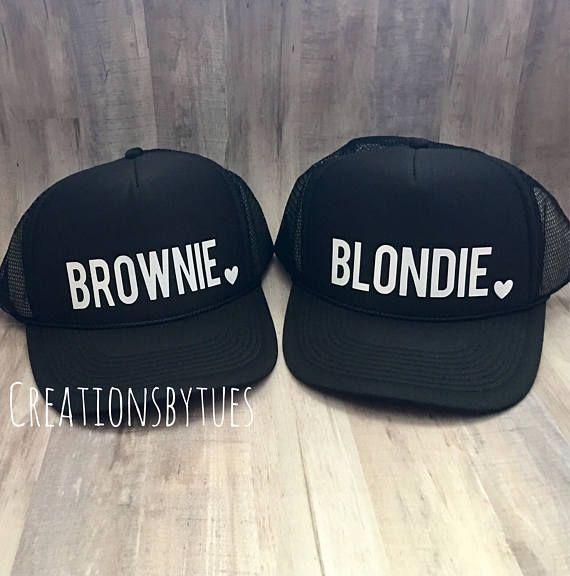 8432d5223ee390 Blondie Brownie, Blondie Brownie hats, Best Friend Hats, Blondie Brownie  Trucker Hats, Womens Hat, C in 2019 | Products | Best friend outfits, Cute  outfits, ...