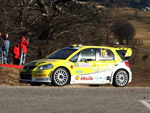 Suzuki SX4 WRC rally car