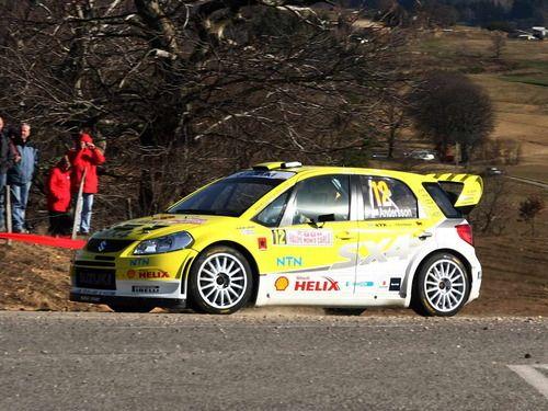 Suzuki SX4 WRC rally car