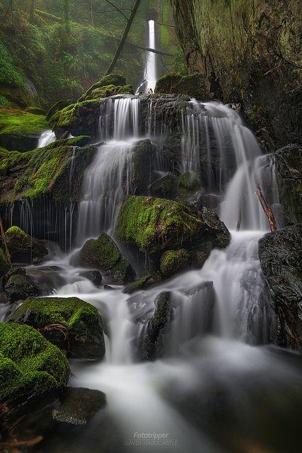 Tunnel Falls - Vancouver Island | by Gavin Hardcastle - Fototripper