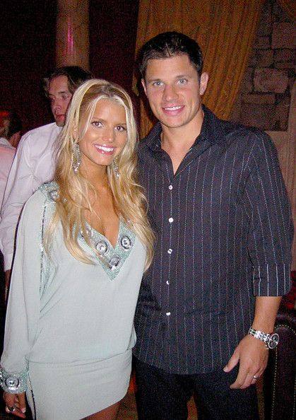 Nick Lachey & Jessica Simpson - Backstage at the MTV Video Awards 2007