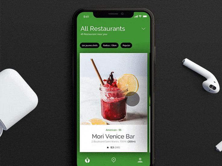Happy New Year Dribbblers :-) :-)  Here's a concept we did for TheFork/Tripadvisor few months ago. It was incredible fun to work on it.  Awesome mockup made by @UI8   ------------  We're Hiring