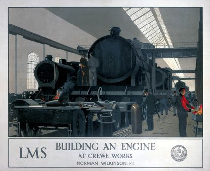 Wilkinson norman 39 building an engine at crewe works for Wilkerson builders