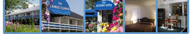 The Yankee Clipper Inn & The Blueberry Muffin Restaurant - North Conway NH - Home