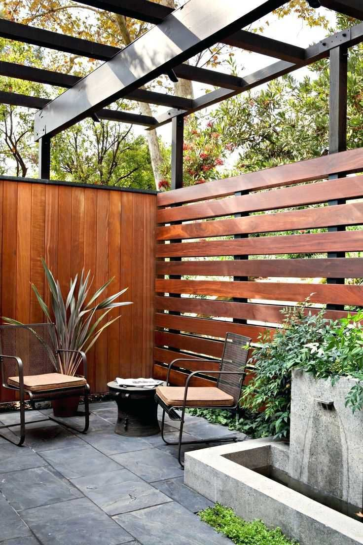 Privacy Fence Patio Backyard Ideas Beautiful If We Ever Have To Re Build Our Fence This Style Is Awesome Patio