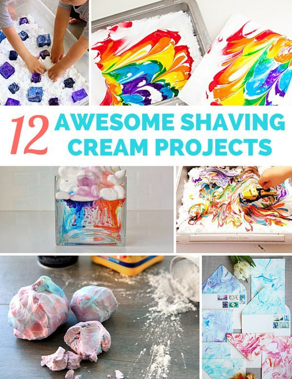 12 awesome shaving cream projects for kids fun and colorful projects for making handmade cards