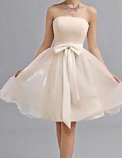 Elegant - A-Lijn - Liefje - Bruidsmeisje jurk ( Doek ) - Kni... – EUR € 49.99